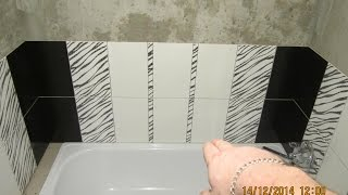 видео Как монтировать 3D плитку в ванной комнате?