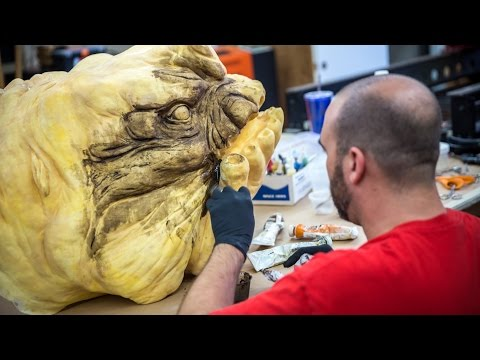 Building the Star Wars Rancor Costume, Part 4