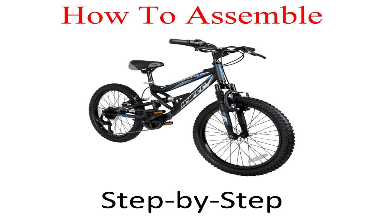 "Black Hyper 20/"" Shocker Kids Mountain Bike"