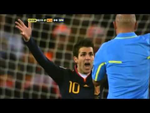 Holland vs Spain. The football fight - YouTube