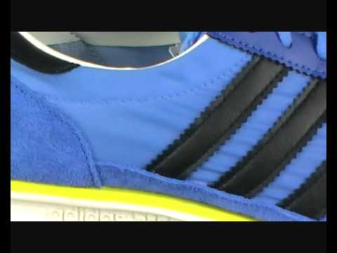 Adidas Originals SL72 Trainers Fresh Blue/Black at Yukka