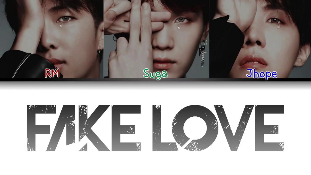 Bts Fake Love Rap Line Original Demo Version Color Coded Lyrics Han Rom Eng