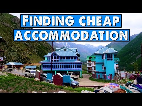 Finding cheap accommodation while travelling in India