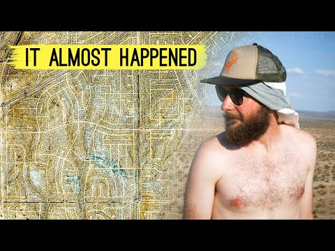 America's LARGEST ABANDONED CITY: California City (Development Disaster)