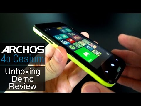 ARCHOS 40 Cesium - Unboxing, Review and Demo