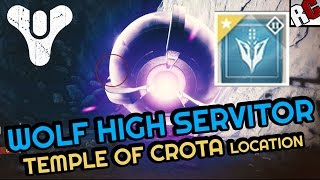 Destiny - Wanted: WOLF HIGH SERVITOR Bounty Location - (Temple of Crota) Queens Wrath on the moon