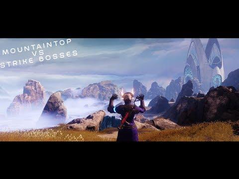 Mountaintop VS Every Strike Boss | Destiny 2