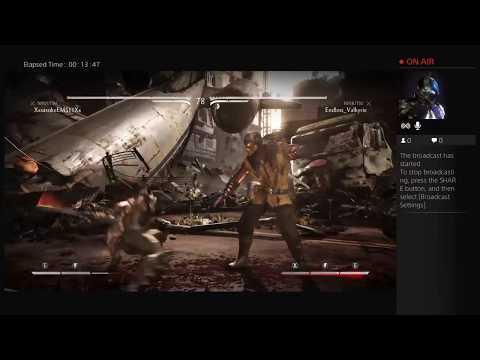 Mortal Kombat X  online and offline part 1
