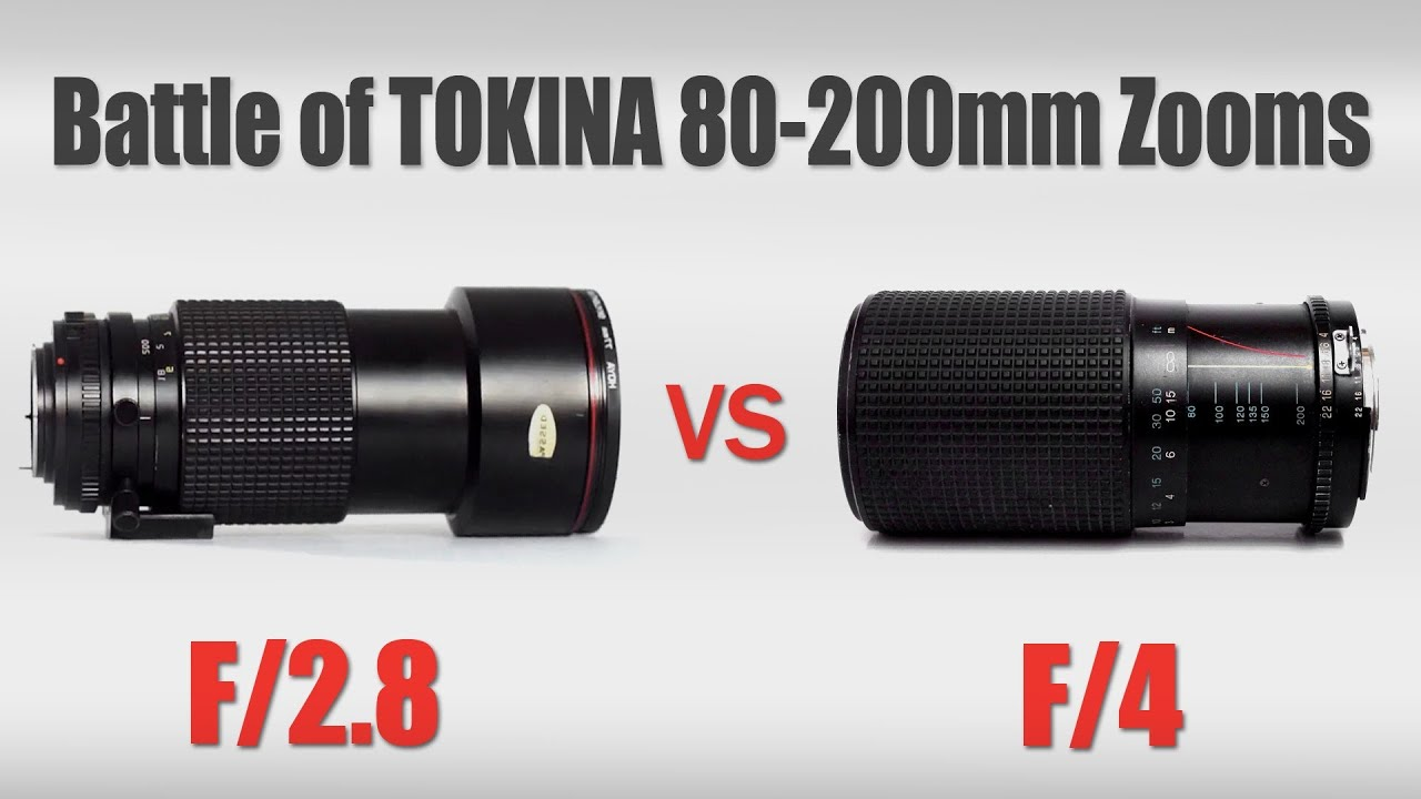 battle of tokina 80 200 zooms 80 200mm f 2 8 vs 80 200mm f 4 vintagelensesforvideo youtube. Black Bedroom Furniture Sets. Home Design Ideas