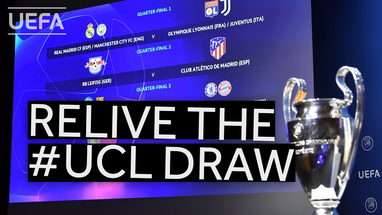 Relive the UEFA Champions League quarter-final, semi-final and final draws!