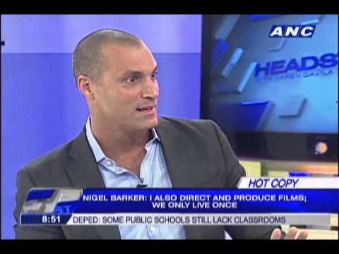 Nigel Barker  on what it's like working with Tyra Banks