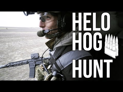 Helo Hog Hunting With Last Shadow (Trex Arms Also)