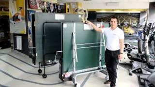 Теннисные столы SPONETA (Германия) - Видео обзор от компании Интер Атлетика