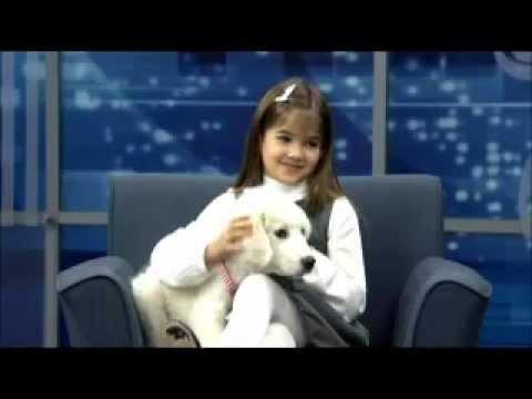 Kaitlyn Maher ( 8yo ) interview in CBS 3 Philadelphia november 27, 2012