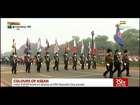 RSTV - Colours of ASEAN at Republic Day Parade