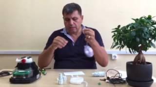 MYTHO Дозирующий насос видео-урок №3 (Гидравлические соединения)