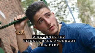 Disconnected Slicked Back Undercut | Clean Fade | Featuring Fly By Midnight