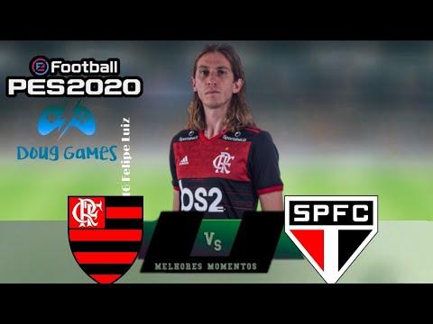 FLAMENGO 1 X 4 SAO PAULO - Melhores momentos - GAMEPLAY ...