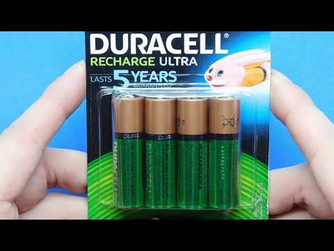 review-4-x-aa-duracell-2500-mah-rechargeable-nimh-ultra-batteries-hr6-lr6-mn1500-mignon-unboxing