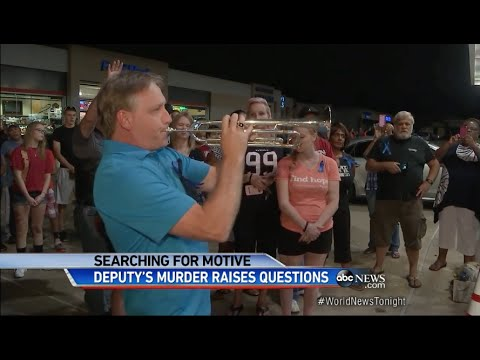 WNT   Sheriff's Deputy Tragically Murdered in Texas   Mike McCurry Trumpet