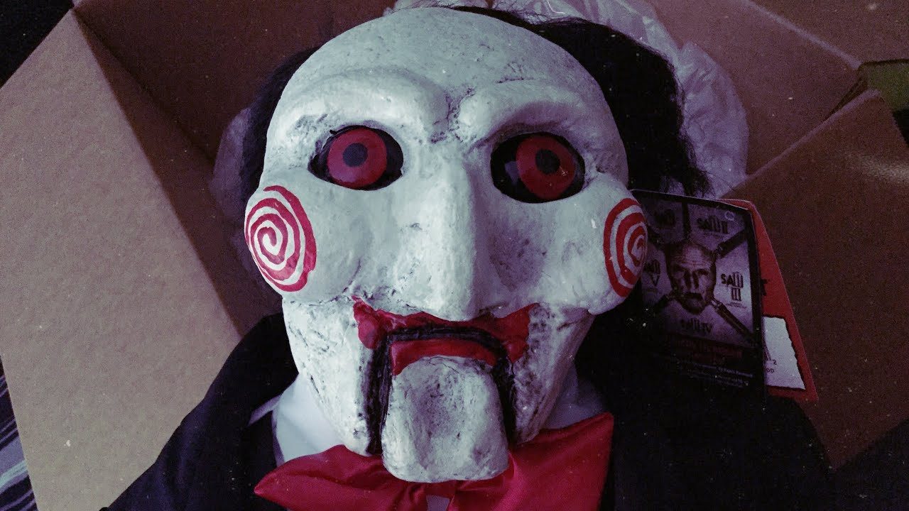 Download SAW Billy Puppet Prop UNBOXING (Trick or Treat Studios)