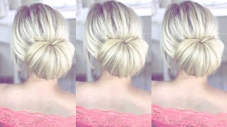 Super EASY Bun Style by SweetHearts Hair