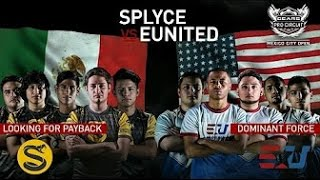 Gears of War 4 Splyce vs eUnited 100.000$ Mexico Pro Circuit Quarterfinals (Game2)