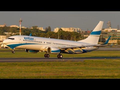 Plane Spotting at Warsaw Chopin Airport - RWY33