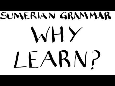 Learn to Read Ancient Sumerian, Lesson 0: Why Learn? - YouTube