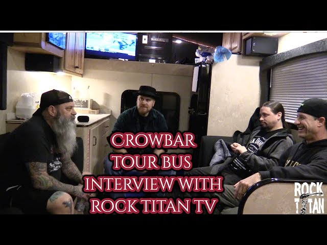 Crowbar's Kirk and Tommy tell stories on Killswitch Engage tour