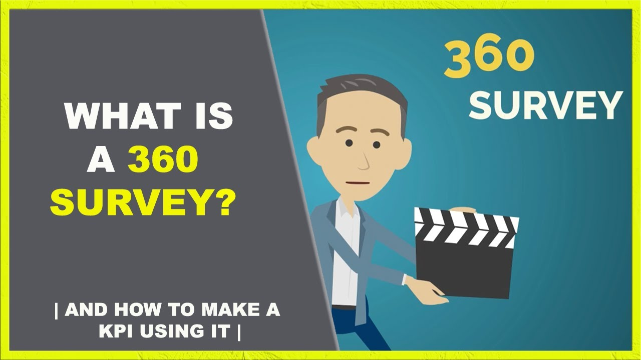 What is and how to create a 360 survey!