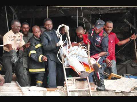 Deadly blast rocks UN building in Abuja.wmv