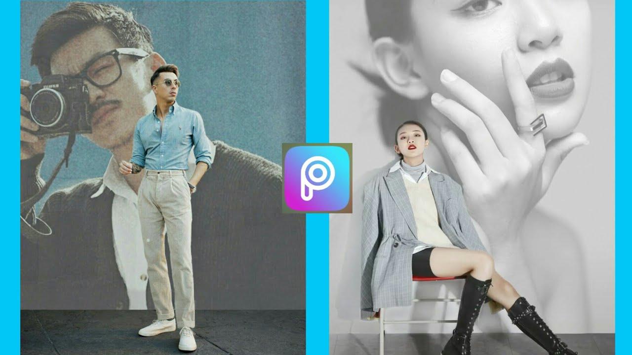 Picsart| Cách chỉnh ảnh lồng ghép nghệ thuật, ảnh đại diện Facebook…