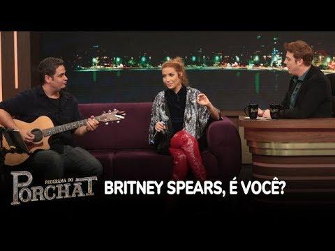 Luiza Possi Mostra Talento E Imita Britney Spears