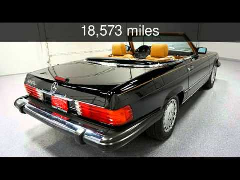 1989 Mercedes-Benz 560 Series 560SL Used Cars - Lubbock,Texas - 2016-01-21