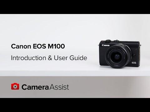 佳能(Canon) EOS M100 連EF-M 15-45mm f/3.5-6.3 IS STM鏡頭套裝數碼相機 相關視頻