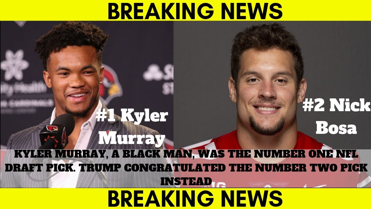 Trump Congratulates Number 2 Draft Pick Over Number One NFL Draft Pick????