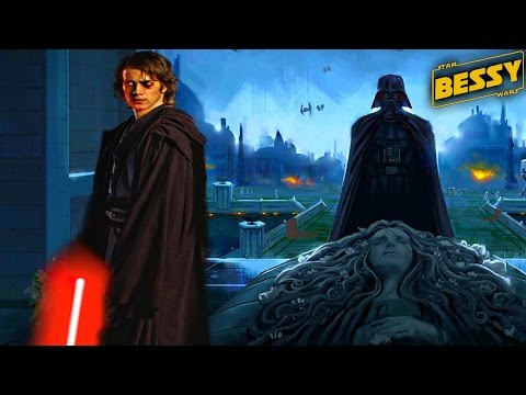 How and When did Darth Vader Visit Padme's Grave - Explain Star Wars