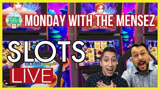 🔴 LIVE SLOT MACHINE PLAY 🎰 It's Monday with The Mensez!
