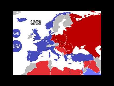 Борьба между Вашингтоном (НАТО) и Москвой (ОВД/ОДКБ) за передел Европы