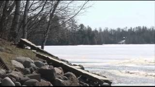 Raw: MN Lakes Still Frozen Before Fishing Opener