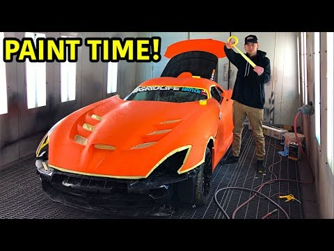 Rebuilding A Wrecked 2014 Dodge Viper TA TIME ATTACK PART 15
