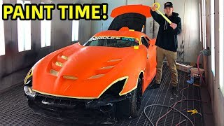 We finally made it into the final steps of the rebuilding process! This has been a tedious build, but nothing has stopped us yet. This Dodge Viper TA is going to be ...