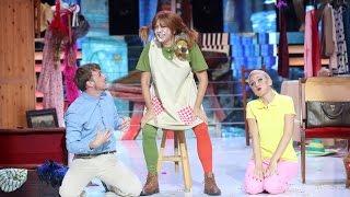 Yolanda Ramos imita a Pippi Calzaslargas - Tu Cara Me Suena