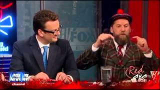 Hilarious Gavin McInnes on Redeye Ranting on Entrepreneurship (You Didn't Build That)