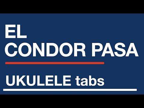 El Condor Pasa Ukulele Tab Sheet Music Youtube