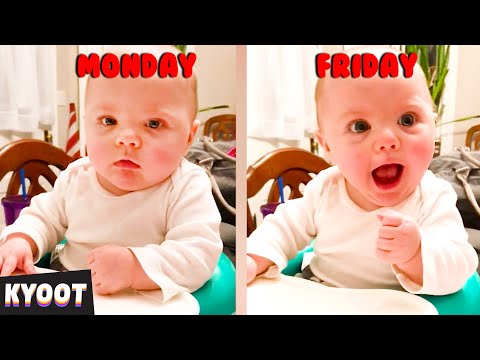 Bad Day? Watch The Cutest Faces EVER! 🤣 | Baby Cute Funny Moments
