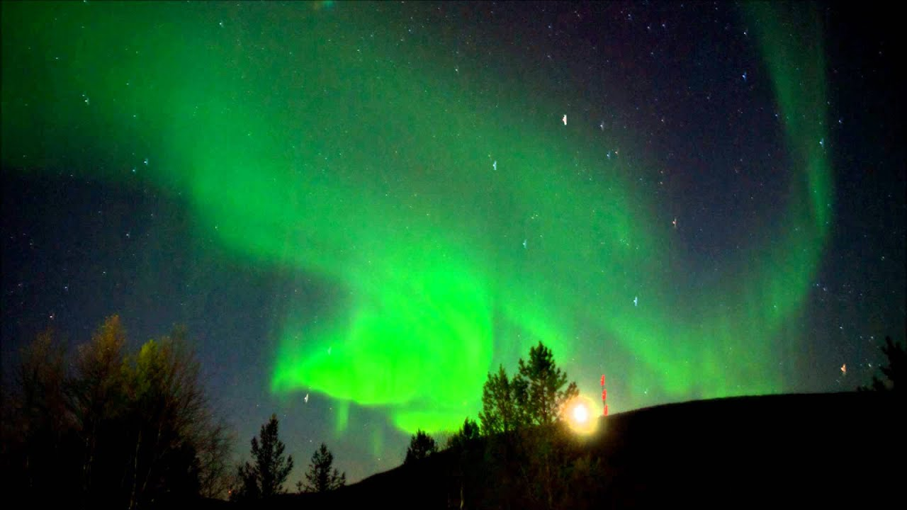 Northern Lights Light Box