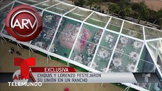 El rancho en el que festejaron su boda Chiquis y Lorenzo | Al Rojo Vivo | Telemundo