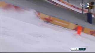 JO 2018 - Ski de bosses :  L'émotion de Perrine Laffont après le dernier run raté de son adversaire